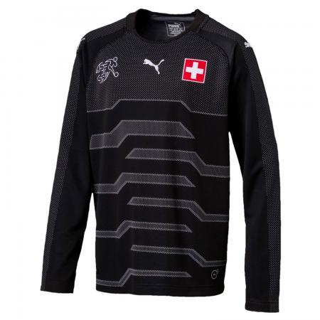 Torwarttrikot der Schweizer Nationalmannschaft für Kinder