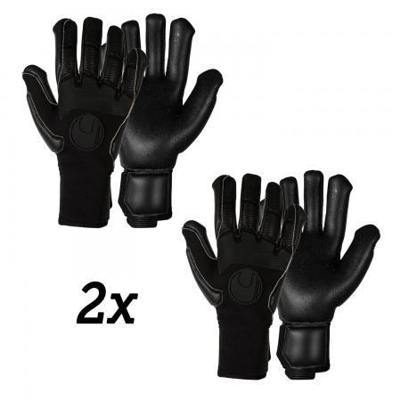 PURE BLACK EDITION Supergrip+ HN Innennaht SMU Handschuhpaket