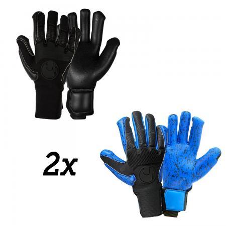 Handschuhpaket PURE BLACK Edition SMU und Aquagrip HN SMU