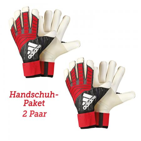 Adidas Predator Pro Fingertip Torwarthandschuhpaket 2 Paar