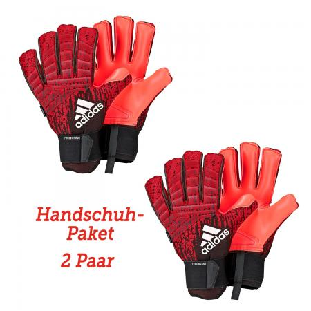 Predator Pro Fingersave Außennaht Initiator Pack Handschuhpaket