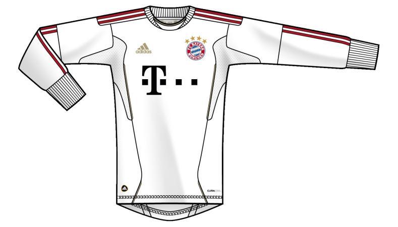 FC Bayern Torwarttrikot