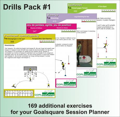 Der Goalsquare Drills Pack #1